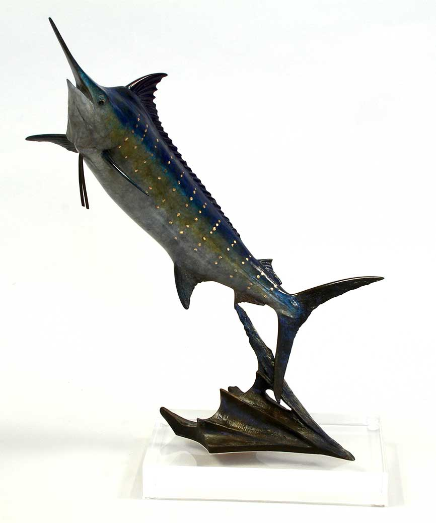 Chris Bladen Sculpture Blue Marlin II