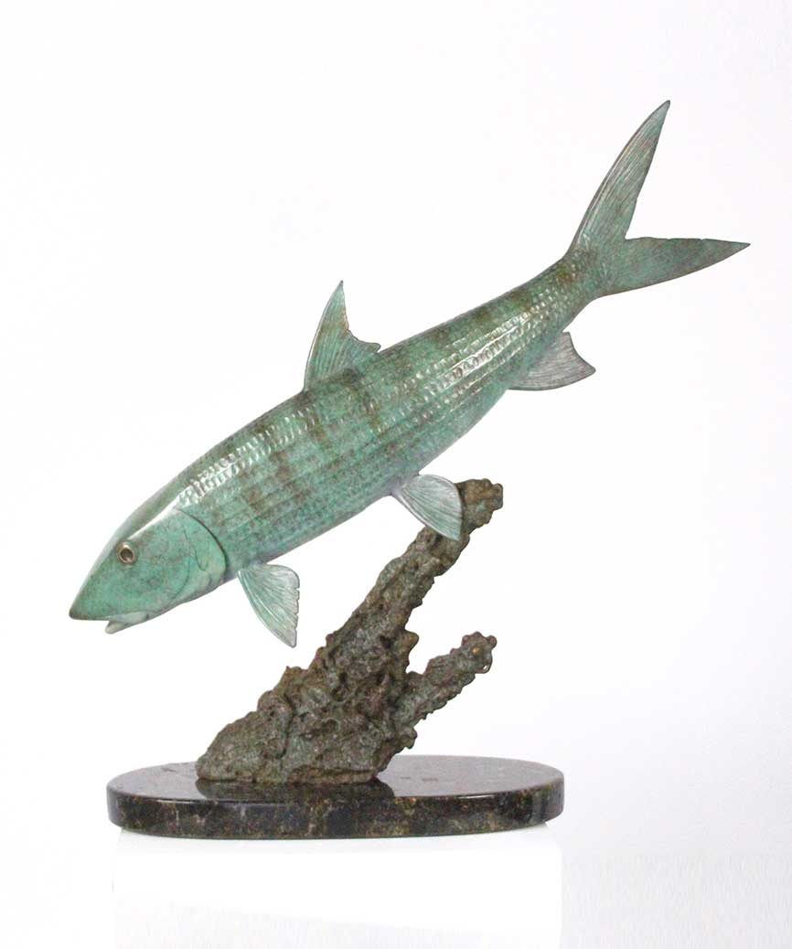 Chris Bladen Sculpture Bonefish Single
