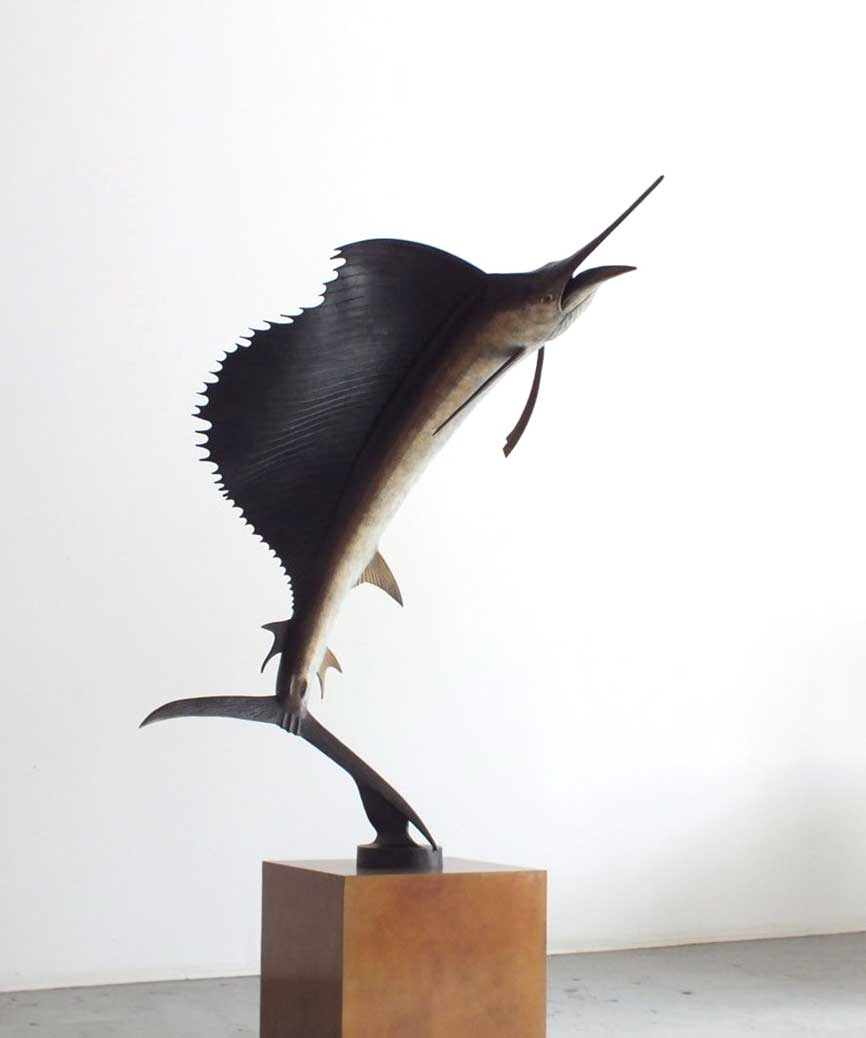 Chris Bladen Lifesize Sailfish