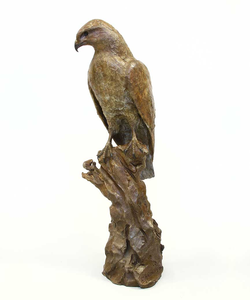 Chris Bladen Sculpture Steppe Buzzard