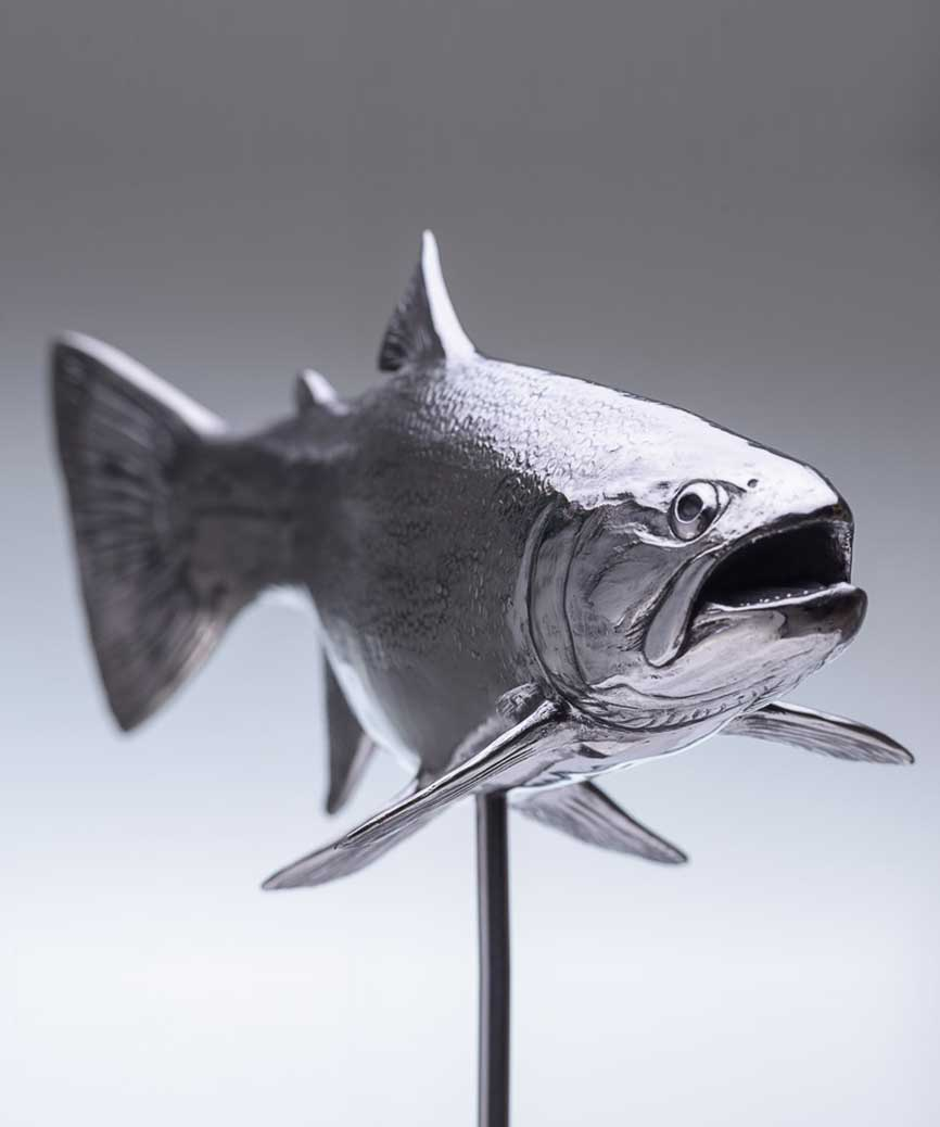 Chris Bladen stainless steel trout
