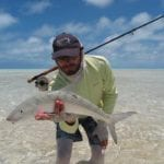 Chris Bladen Bonefish Giant Trevally