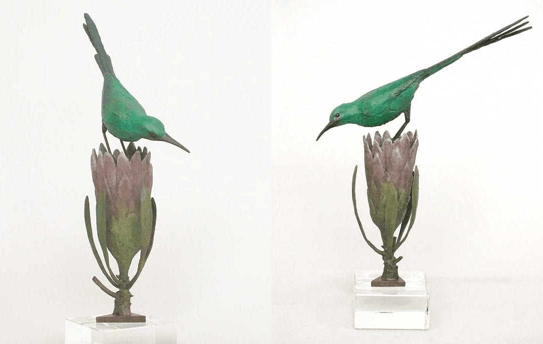 Chris Bladen Sculpture Malachite